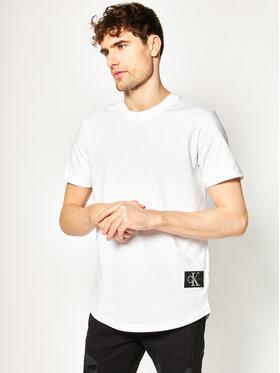 Calvin Klein Jeans Calvin Klein Jeans Póló Essential J30J315319 Fehér Regular Fit