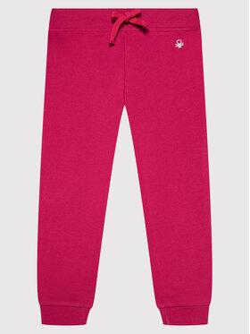United Colors Of Benetton United Colors Of Benetton Pantaloni da tuta 3J68I0017 Rosa Regular Fit