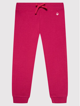 United Colors Of Benetton United Colors Of Benetton Παντελόνι φόρμας 3J68I0017 Ροζ Regular Fit