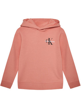 Calvin Klein Jeans Calvin Klein Jeans Sweatshirt Small Monogram IU0IU00164 Rosa Regular Fit