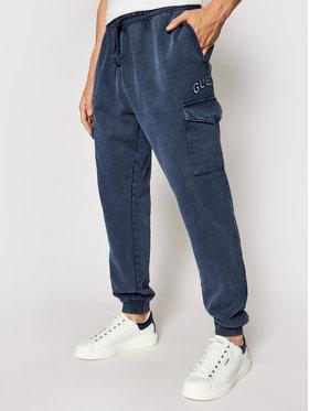 Guess Guess Pantalon jogging M1YB53 K9W01 Bleu marine Regular Fit