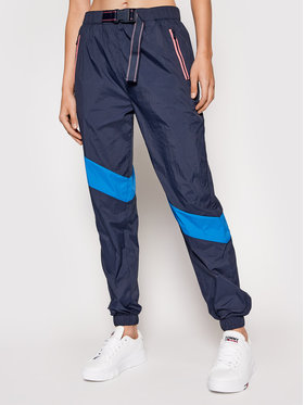 Tommy Jeans Tommy Jeans Sportinės kelnės Tjw Technical DW0DW10488 Tamsiai mėlyna Loose Fit