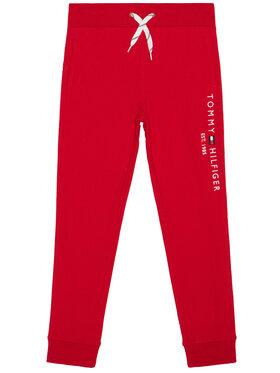 TOMMY HILFIGER TOMMY HILFIGER Pantalon jogging Essential KB0KB05864 Rouge Regular Fit