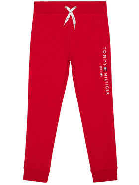 TOMMY HILFIGER TOMMY HILFIGER Παντελόνι φόρμας Essential KB0KB05864 Κόκκινο Regular Fit