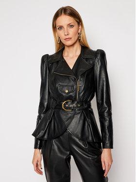 Elisabetta Franchi Elisabetta Franchi Veste en cuir GD-14Z-11E2-V940 Noir Regular Fit