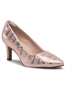 Clarks Clarks Pantofi cu toc subțire Illeana Tulip 261575134 Roz