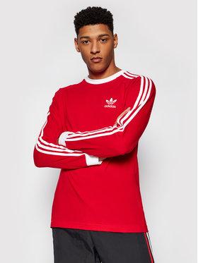 adidas adidas Longsleeve adicolor Classics 3-Stripes GN3489 Czerwony Slim Fit