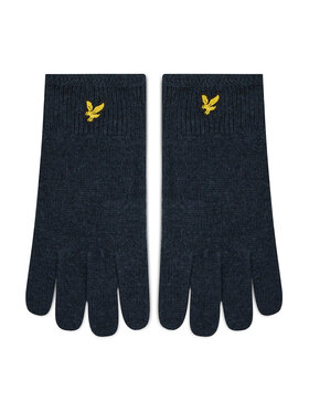 Lyle & Scott Lyle & Scott Mănuși pentru Bărbați Racked Rib Gloves GL304CL Bleumarin