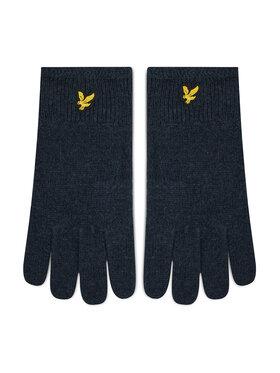 Lyle & Scott Lyle & Scott Pánské rukavice Racked Rib Gloves GL304CL Tmavomodrá