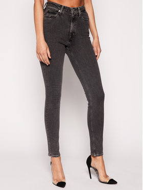 Calvin Klein Jeans Calvin Klein Jeans Jeansy Slim Fit J20J207768 Szary Skinny Fit