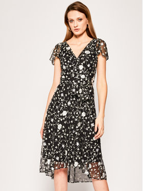 DKNY DKNY Kleid für den Alltag DD0BH154 Schwarz Regular Fit
