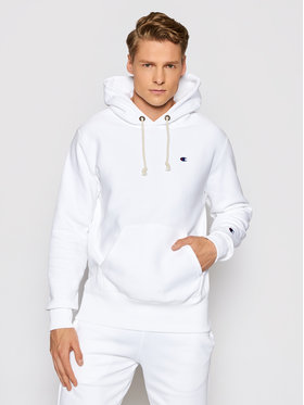 Champion Champion Bluza Reverse Weave 214675 Biały Custom Fit