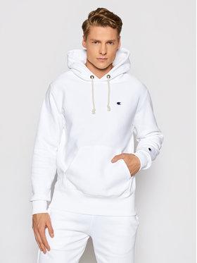 Champion Champion Majica dugih rukava Reverse Weave 214675 Bijela Custom Fit