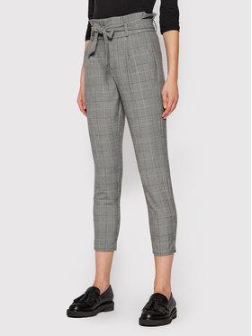 Vero Moda Vero Moda Текстилни панталони Eva 10209834 Сив Loose Fit