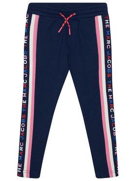 Little Marc Jacobs Little Marc Jacobs Sportinės kelnės W14249 S Tamsiai mėlyna Regular Fit