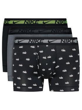 Nike Nike Komplektas: 3 poros trumpikių 0000KE1029 Juoda