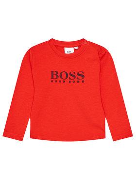 Boss Boss Bluse J05845 Rot Regular Fit