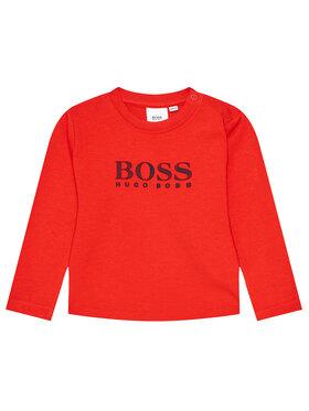 Boss Boss Bluzka J05845 Czerwony Regular Fit