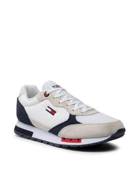 Tommy Jeans Tommy Jeans Sneakersy Retro Runner Mix EM0EM00699 Biela