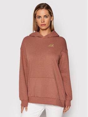 New Balance New Balance Bluza WT13501 Różowy Oversize