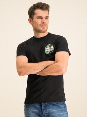 Diesel Diesel T-Shirt T-Diego-J10 00SASM 0091A Černá Regular Fit