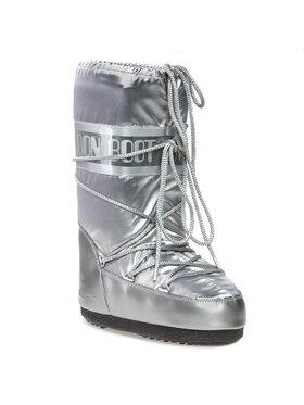 Moon Boot Moon Boot Sněhule Glance 14016800002 Stříbrná
