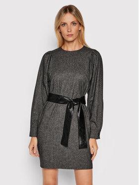 Marella Marella Kleid für den Alltag Nefle 32260116200 Grau Regular Fit