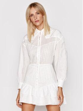 IRO IRO Sukienka koszulowa Josey AO532 Biały Regular Fit