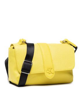 Calvin Klein Jeans Calvin Klein Jeans Дамска чанта Flap Crossbody K60K608268 Жълт