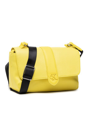 Calvin Klein Jeans Calvin Klein Jeans Torebka Flap Crossbody K60K608268 Żółty