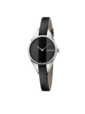 Calvin Klein Calvin Klein Часовник K8P231C1 Черен