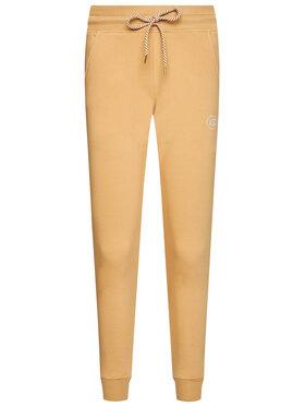 PLNY LALA PLNY LALA Teplákové kalhoty Kiss PL-SP-SE-00011 Hnědá Regular Fit