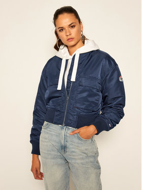 Tommy Jeans Tommy Jeans Bomber Gathering DW0DW08575 Blu scuro Regular Fit