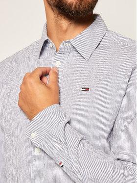 Tommy Jeans Tommy Jeans Marškiniai Tjm Seersucker Multi DM0DM07921 Mėlyna Regular Fit