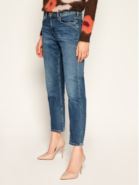 Pepe Jeans Pepe Jeans Jeansy Straight Fit Mary PL203057 Granatowy Straight Fit