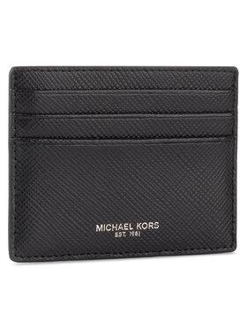 MICHAEL Michael Kors MICHAEL Michael Kors Bankkártya tartó Tall Card Case 39F6LHRD2L Fekete