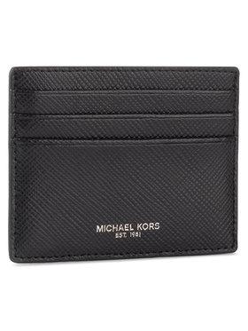 MICHAEL Michael Kors MICHAEL Michael Kors Puzdro na kreditné karty Tall Card Case 39F6LHRD2L Čierna