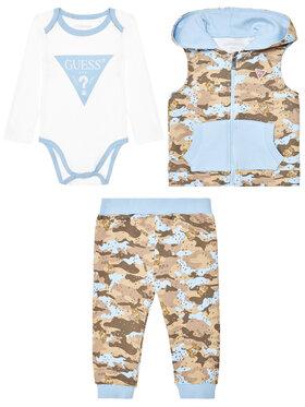 Guess Guess Комплект боди, панталон и елек P1RG07 KA6W0 Цветен Regular Fit