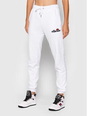 Ellesse Ellesse Teplákové kalhoty Noora SGK13459 Bílá Regular Fit