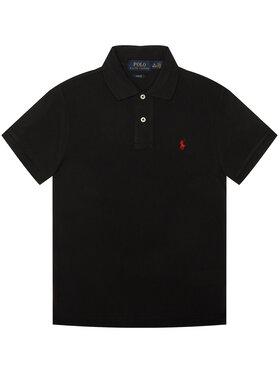 Polo Ralph Lauren Polo Ralph Lauren Polo marškinėliai Fsr 323547926001 Juoda Slim Fit