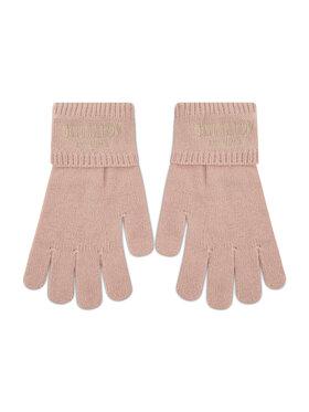 TWINSET TWINSET Dámske rukavice Guanti 212AO5358 Ružová