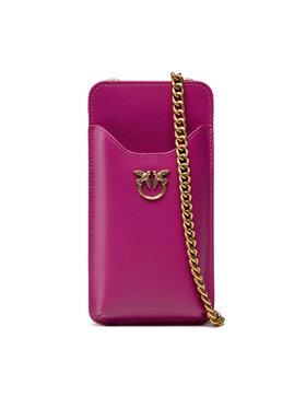 Pinko Pinko Puzdro na telefón I Phone Case Simply C . AI 21-22 PLTT 1P22ES Y6XT Ružová
