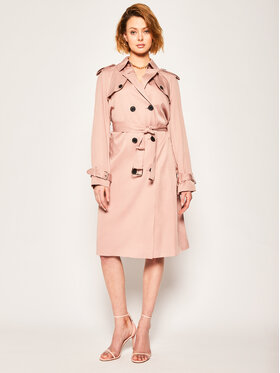 Calvin Klein Calvin Klein Παλτό μεταβατικό Lightweight K20K201847 Ροζ Regular Fit