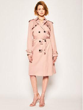 Calvin Klein Calvin Klein Płaszcz przejściowy Lightweight K20K201847 Różowy Regular Fit