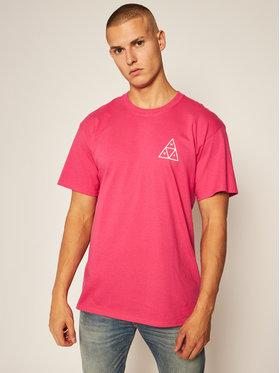 HUF HUF T-Shirt Essentials TS00509 Różowy Regular Fit