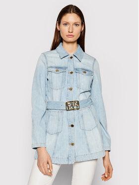 Pinko Pinko Kurtka jeansowa Logan PE 21 PDEN 1J10MA Y649 Niebieski Slim Fit