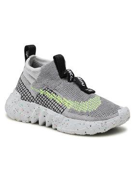 Nike Nike Boty Space Hippie 02 CQ3988 002 Šedá