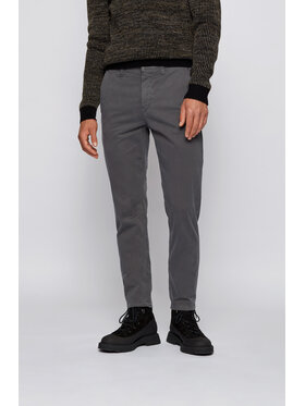 Boss Boss Spodnie materiałowe Schino-Taber D 50442037 Szary Tapered Fit