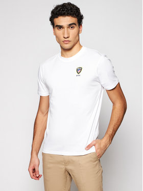 Blauer Blauer T-shirt 21SBLUH02130 004547 Bianco Regular Fit