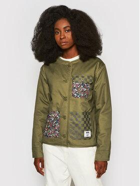 Vans Vans Prijelazna jakna Made With Li VN0A5FSD Zelena Loose Fit